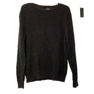 Dark gray men's sweater